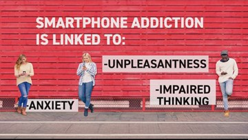 Nomophobia: 'I'm addicted...I'm not going to lie'