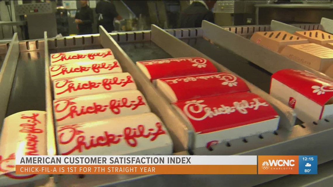 My pleasure: Chick-Fil-A tops customer satisfaction for 7th straight year