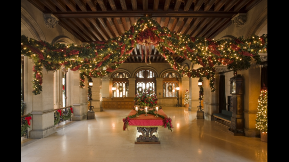 There's nothing like Christmas time at the Biltmore! Pic. The Biltmore House