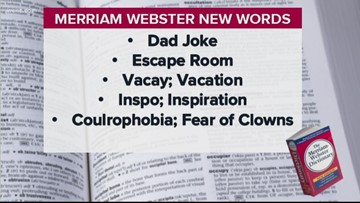 Merriam Webster adds 533 new words to dictionary