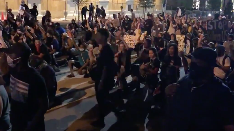 97 people arrested in four days as protests in Charlotte continue
