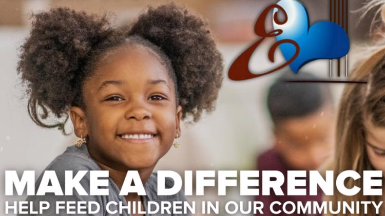 Make a difference by donating to help feed hungry kids