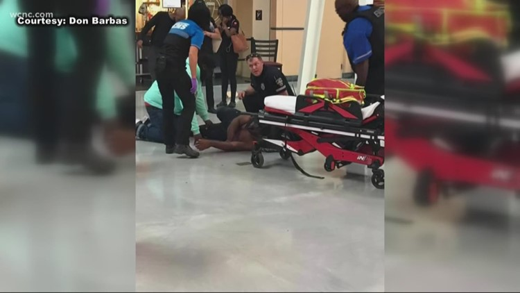 """""""I have a huge hole in my leg."""" Man says he was shot at movie theater over dispute about seat; suspect arrested"""