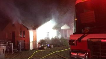 Children left home alone escape house fire in Gastonia