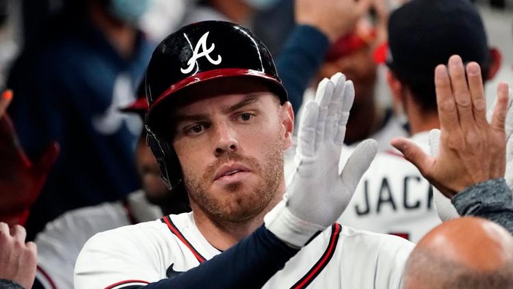 Power of Sage: Freeman 3-run homer, Braves beat Cubs 8-7
