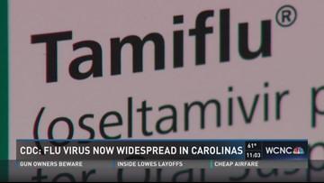 CDC: Flu virus now widespread in Carolinas | wcnc com
