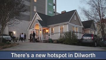 Dilworth hair stylist runs 'Bone Bar' for dogs out of salon window