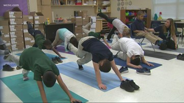Charlotte yoga program helps students with special needs