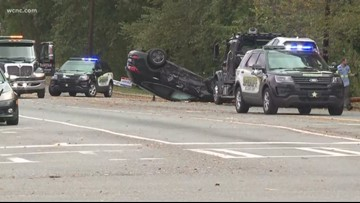 Deputy involved in crash just outside uptown Charlotte