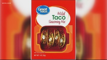 Great Value taco seasoning sold at Walmart recalled over Salmonella concerns