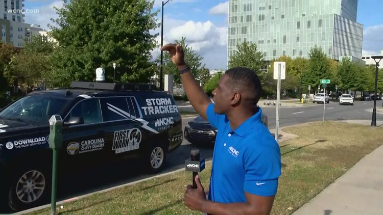 Breaking down Charlotte's weather chances