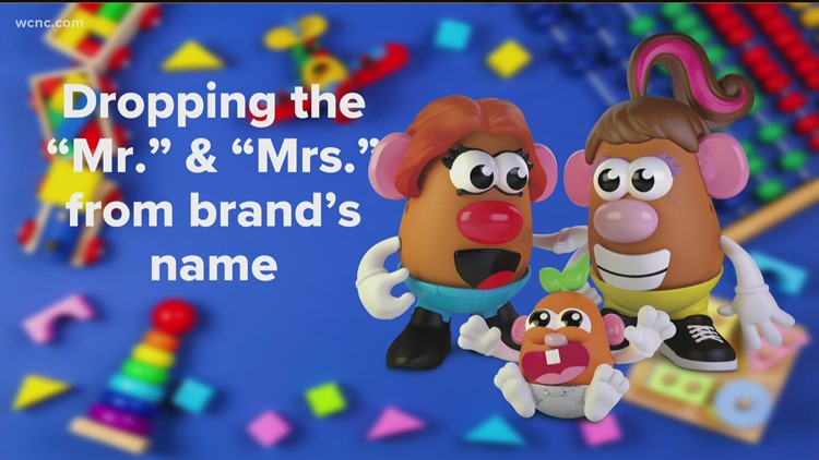 Mr. Potato Head goes gender neutral
