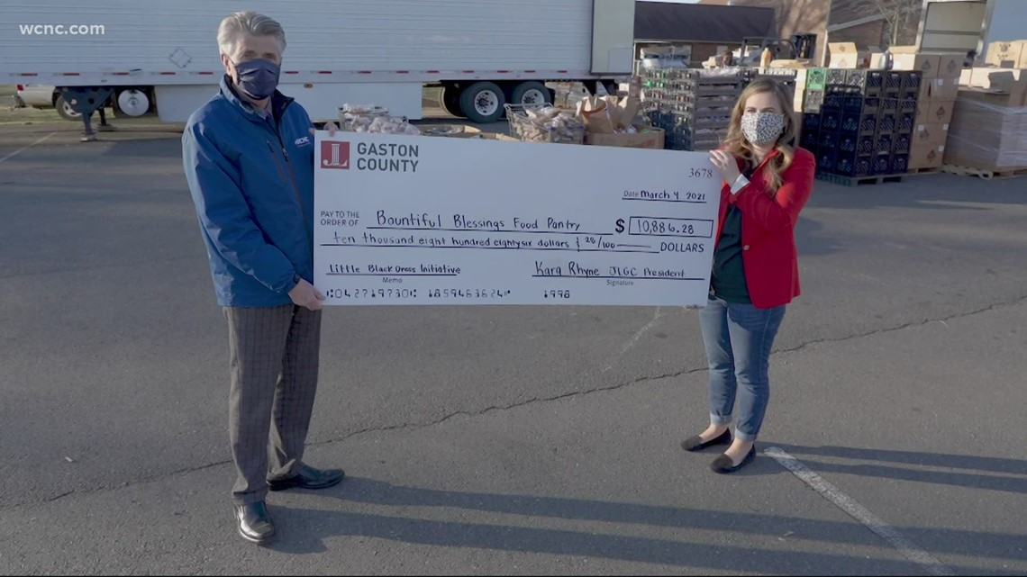 Bountiful Blessings receives $10,000 donation from Junior League