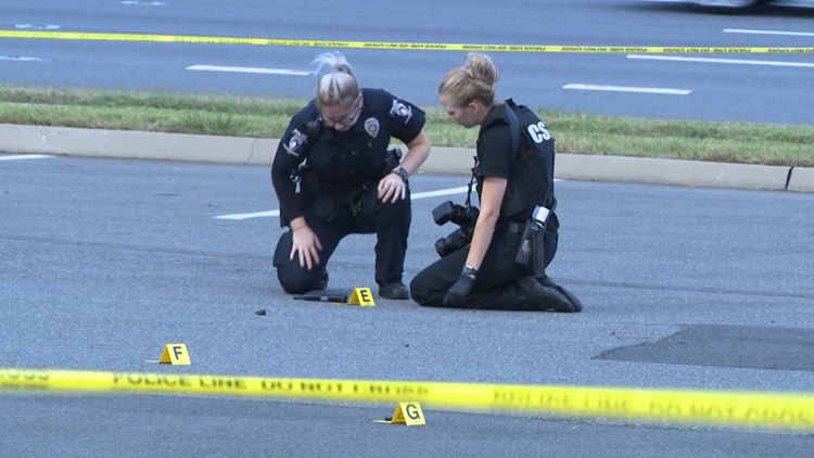 1-year-old, 15-year-old injured when shots fired between cars on Independence Blvd