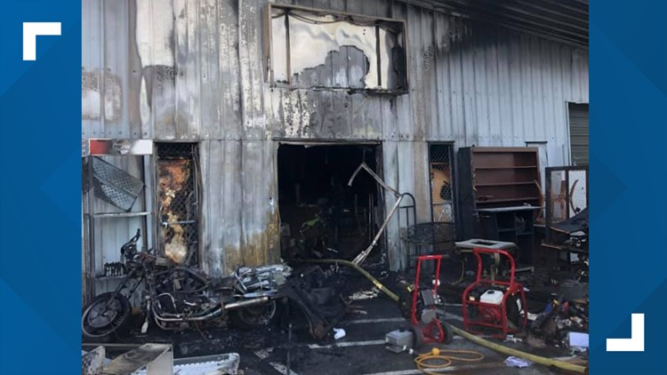 Gastonia Fire Department puts out fire at Gastonia Family Discount Store