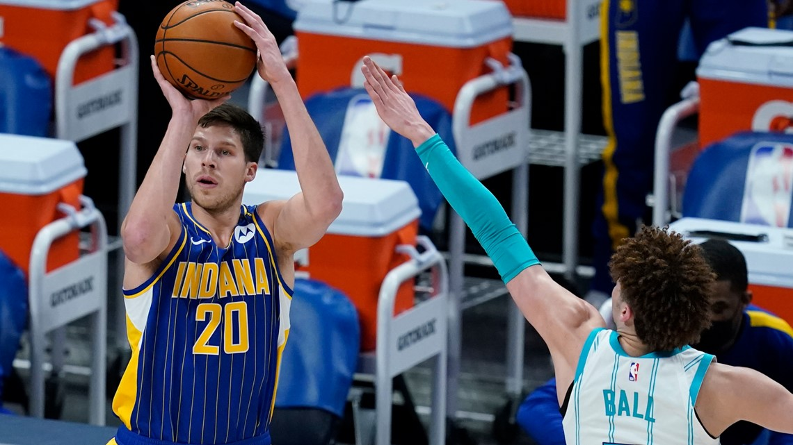 Hornets eliminated by Pacers, 144-117