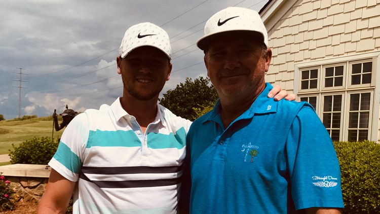 Charlotte-area golfer moves on to U.S. Open. His dad is his caddy.
