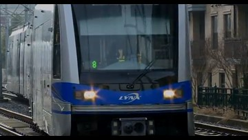 Section of Lynx light rail shut down due to damage from Michael