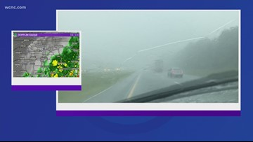 Chevy Storm Tracker: Rain for evening commute