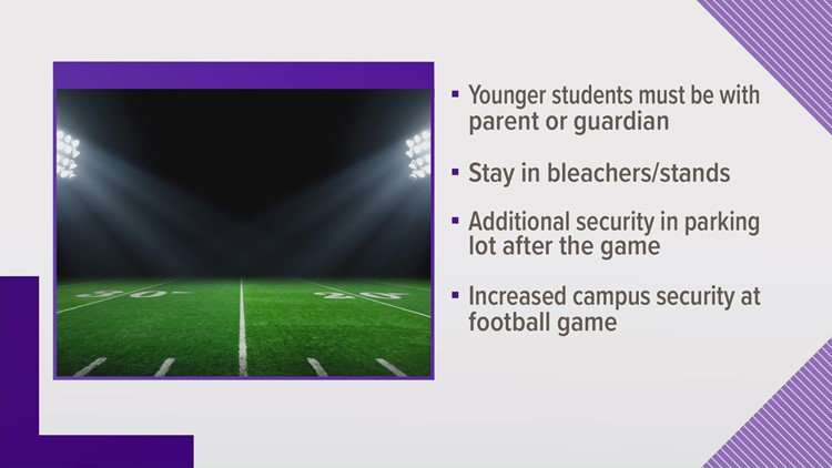 CMS adds extra security to football games following school threats