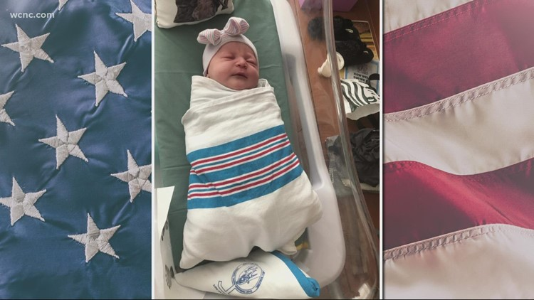 Wife of Marine killed in Kabul gives birth
