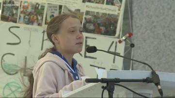 Greta Thunberg leads Charlotte rally to save the planet