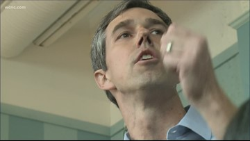 Beto O'Rourke hitting Charlotte Monday on campaign trail