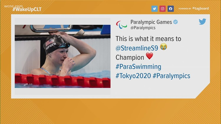 Hannah Aspden hauls home gold from Tokyo Paralympics, a first for Queens University