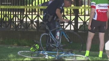 Bicyclist hit, killed by SUV near Myers Park