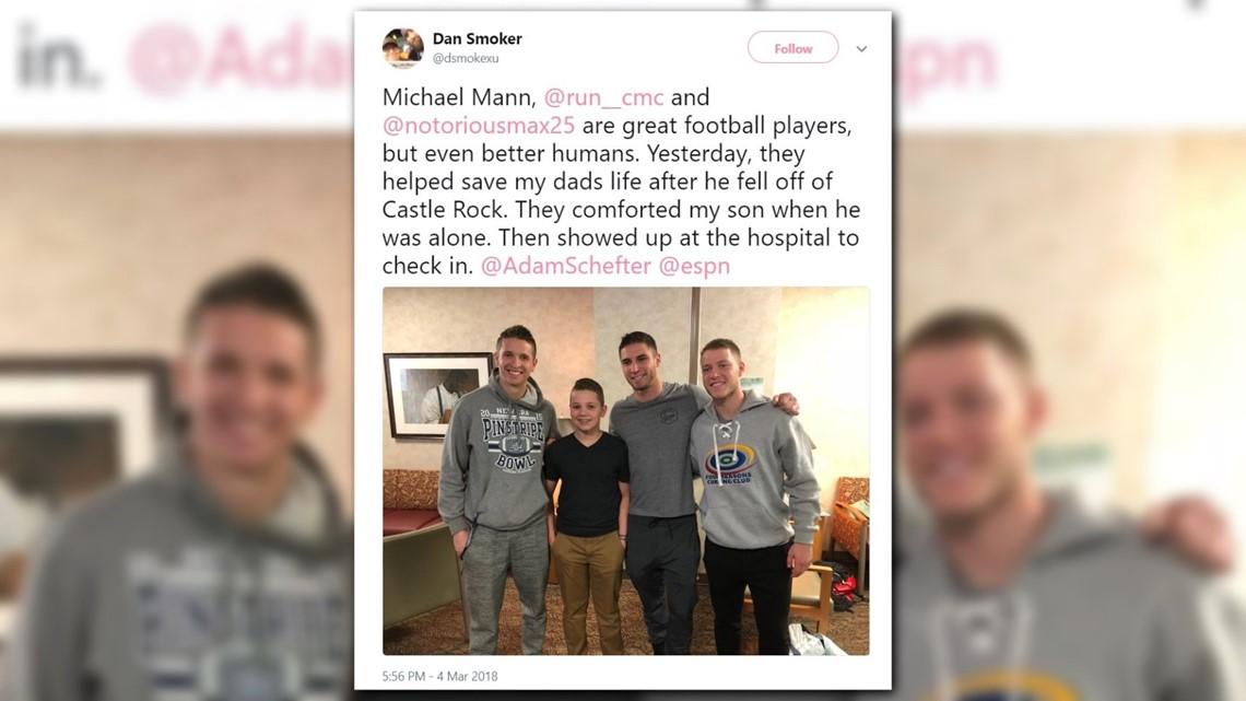 b4601cd52 Panthers' Christian McCaffrey, rescued elderly man give harrowing ...