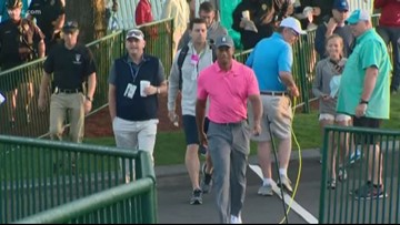 Tiger steals the show at Wells Fargo Pro-Am