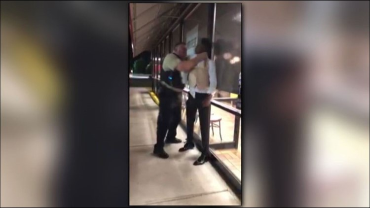 Video Shows White Cop Choking a Black Prom-Goer Outside a North Carolina Waffle House