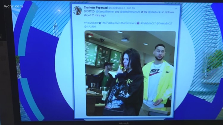 Celebrities spotted all over Charlotte during NBA All-Star Weekend