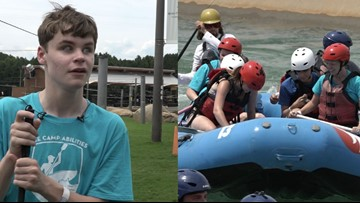 'Nothing should hold you back' | Students who are blind conquer the rapids at the Whitewater Center