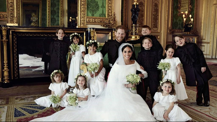 Victoria Beckham has her say on Meghan Markle's divisive wedding dress