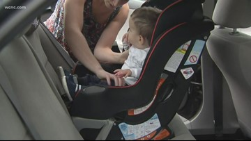 Trade in your old car seat for a gift card at Walmart