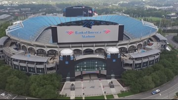 David Tepper hints at possible roof for Bank of America Stadium