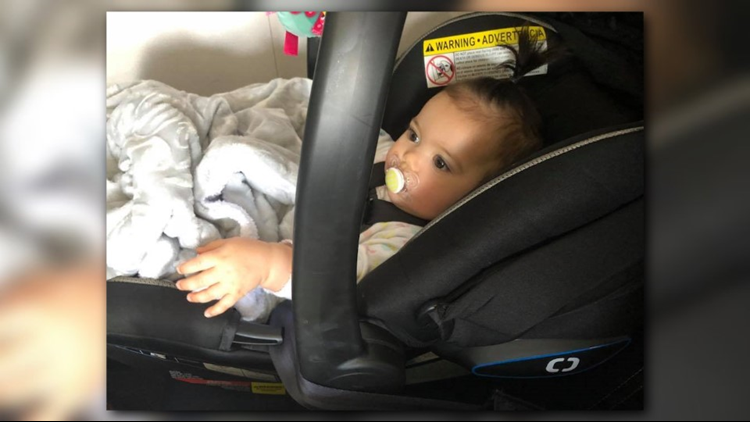 As the flight was about to take off, Hutchins said the gate agent got on the flight, insisting Mila's car seat be forward-facing. Hutchins argued with the agent but eventually complied.