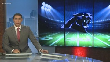Former Panther Charles Johnson getting used to life after football