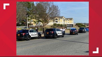 Concord Police investigate shooting at Lily Green Apartments