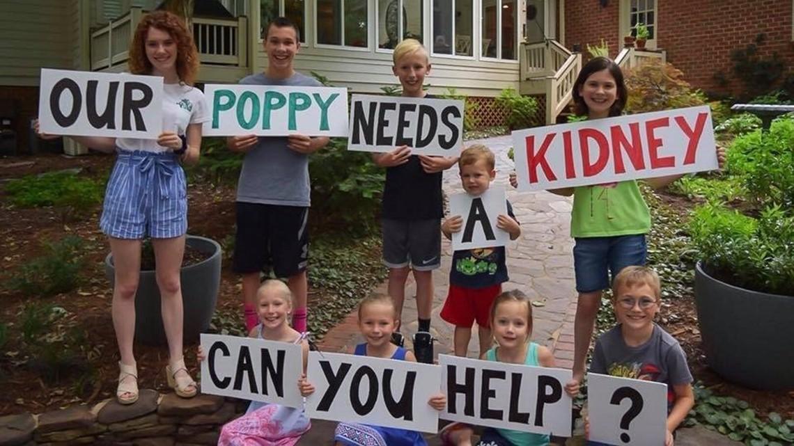 Grandkids start search for Grandpa's kidney on Facebook