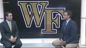 Wake Forest Athletic Director John Currie stops by NBC Charlotte