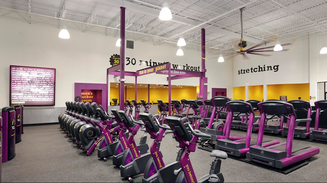 Man arrested for exercising naked at Planet Fitness gym