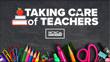 NBC Charlotte is taking care of our teachers!