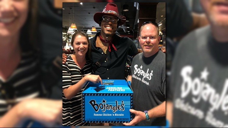 The Carolina Panthers-themed Big Bo Box is available for a limited time at participating restaurants in North Carolina and South Carolina only, while supplies last.