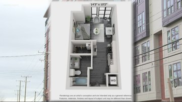 Tiny home, big price: Inside Charlotte's micro-apartment boom