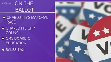 Voters to head to the polls in Mecklenburg County Tuesday