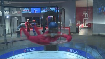 Behind the scenes at iFly, North Carolina's first indoor skydiving facility