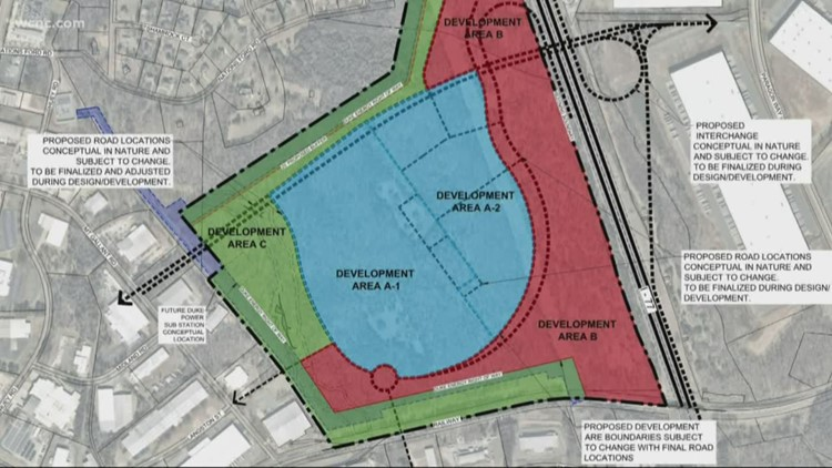 Commission votes to rezone Panthers site