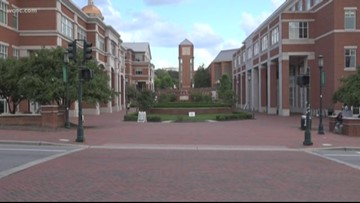 UNC Charlotte known for one of the largest urban research universities in the state
